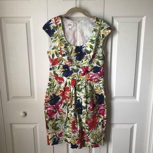 Talbots Petites - floral dress